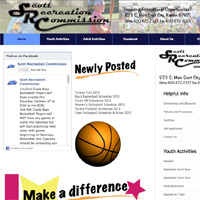Scott Recreation Commission Website