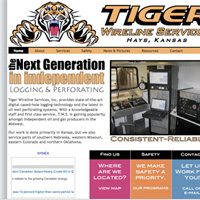 Tiger Wireline Services Website